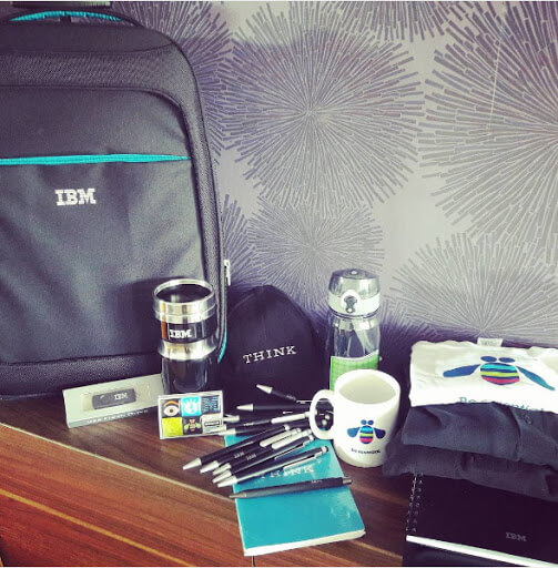 IBM welcome kit