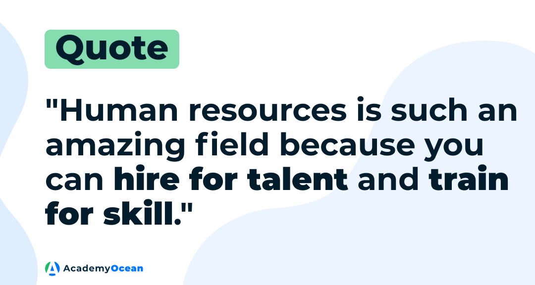 HR quote