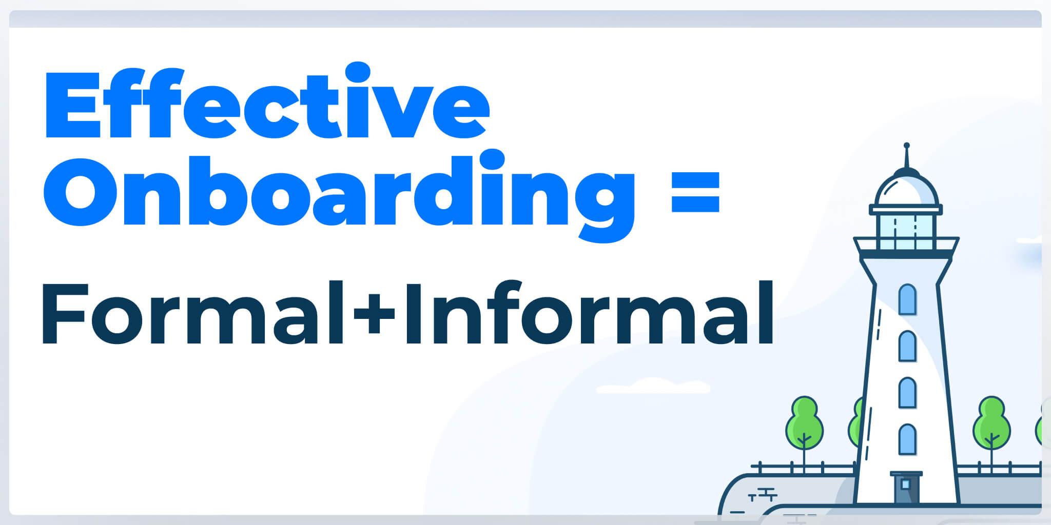 Effective onboarding