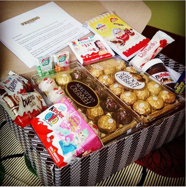Ferrero welcome kit