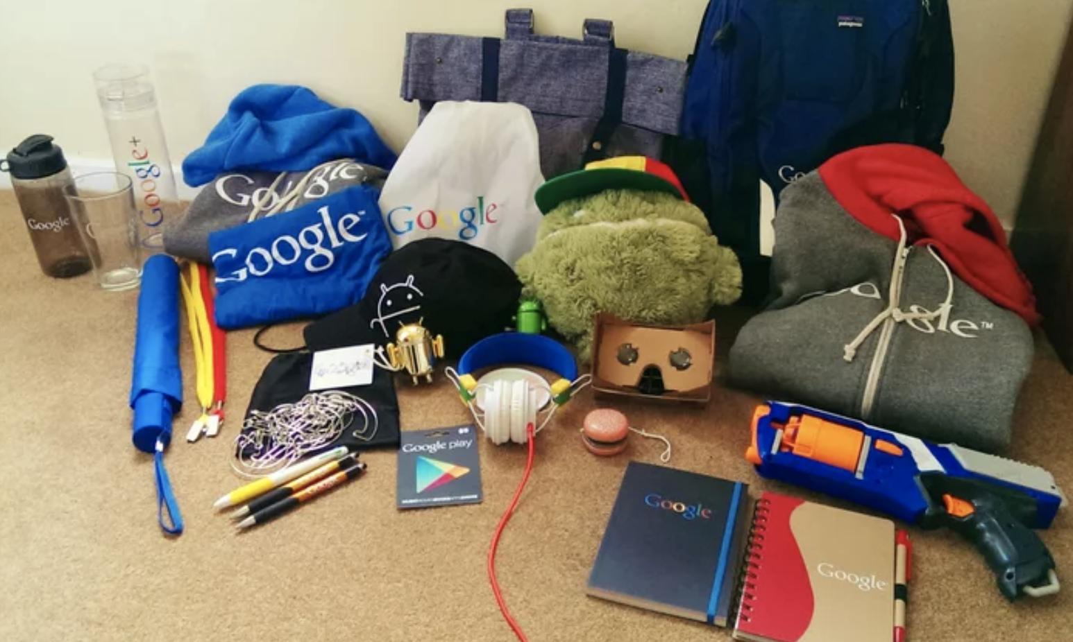 Google welcome kit