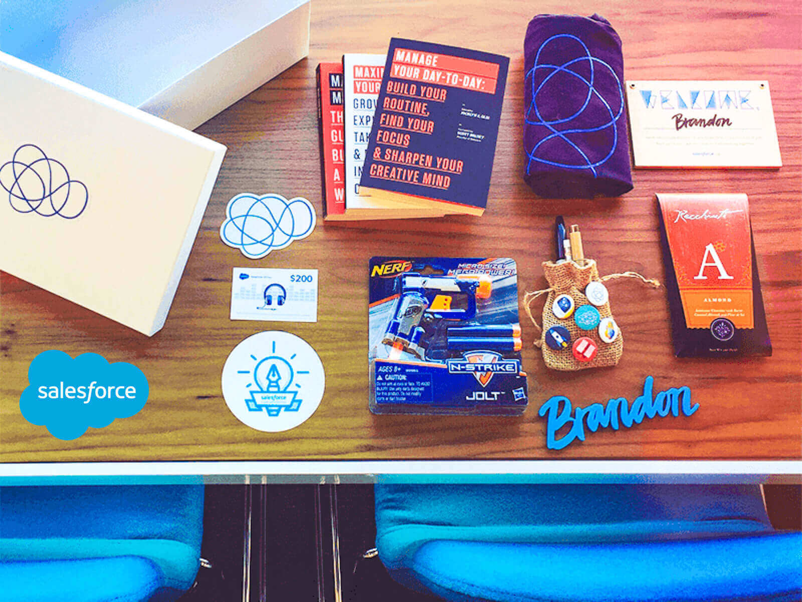 Salesforce welcome kit