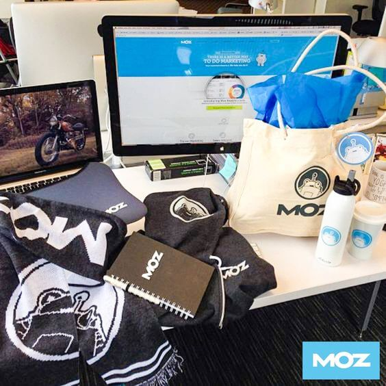MOZ welcome kit