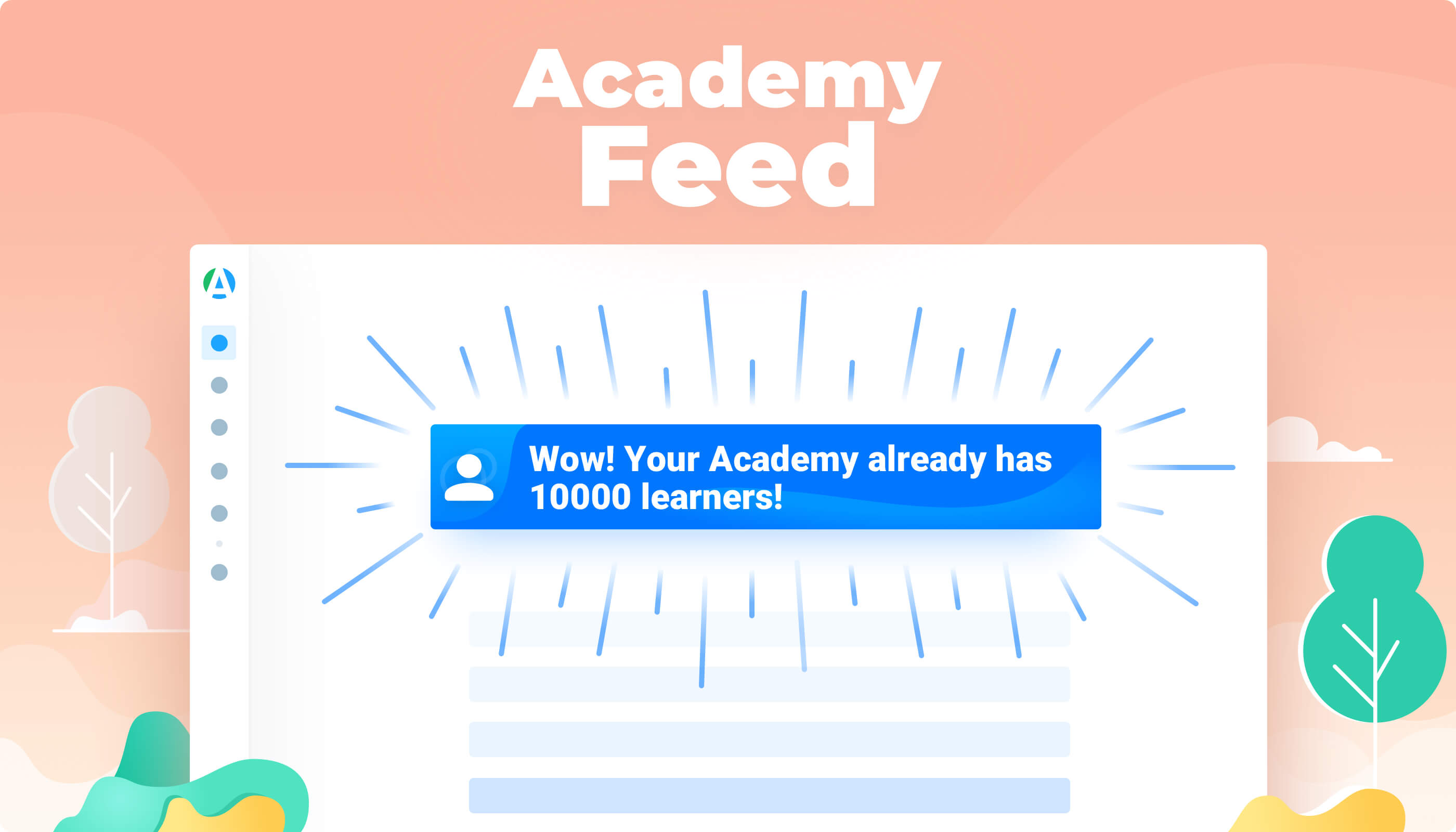Academy Feed feature