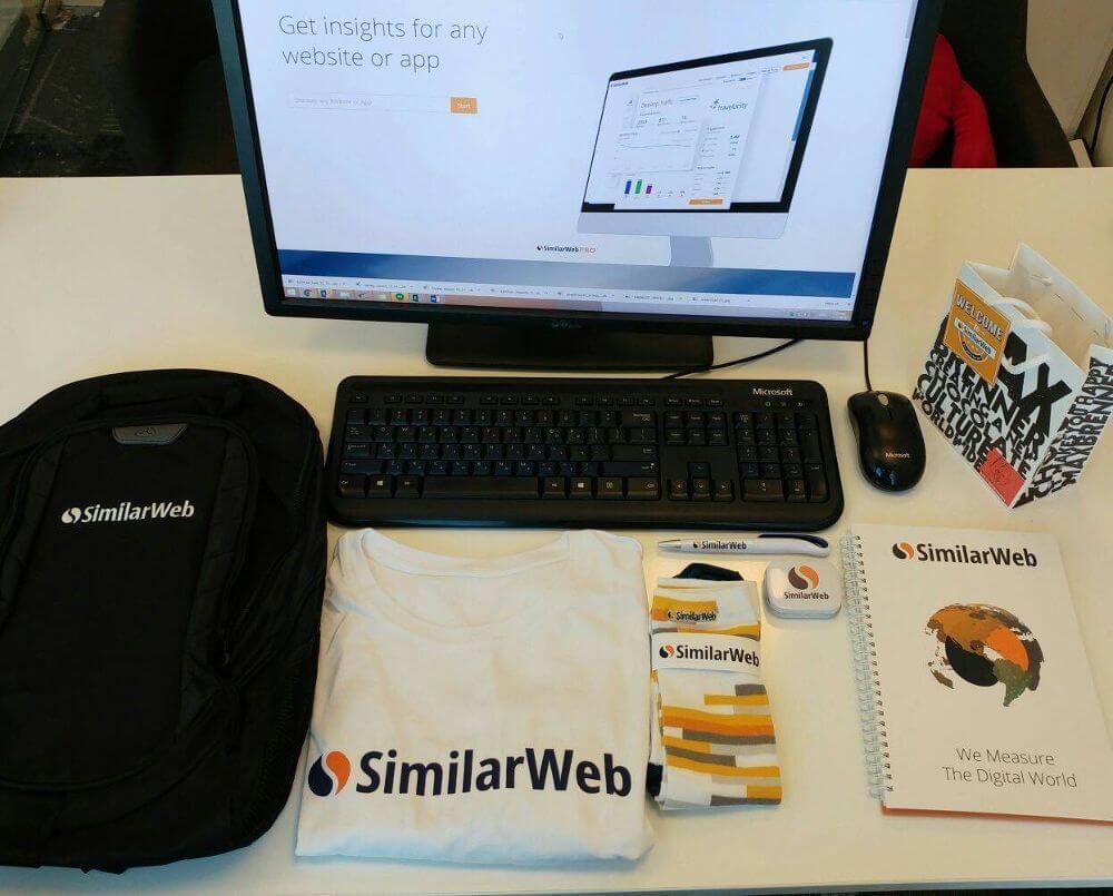 Similarweb welcome kit