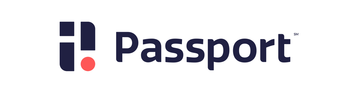 a logo of Passport