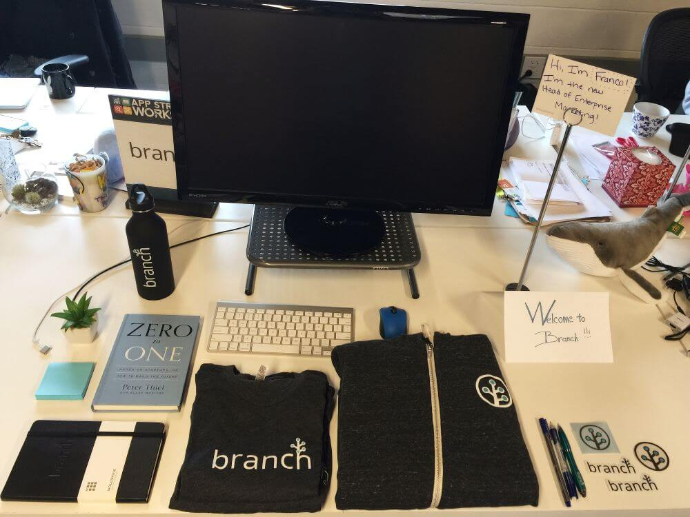 Branch welcome kit
