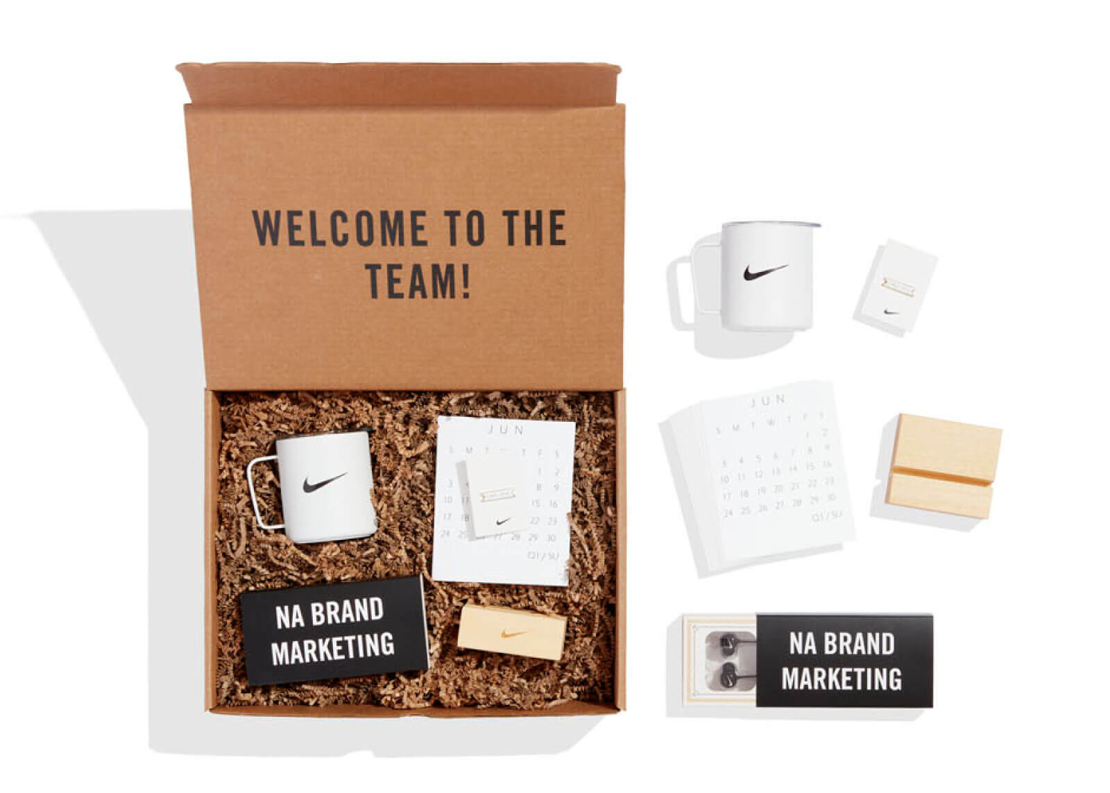 Nike welcome kit