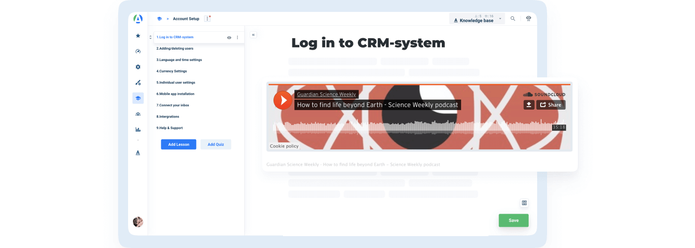 Improved Soundcloud Displaying