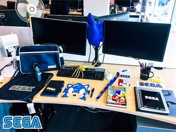 Sega welcome kit