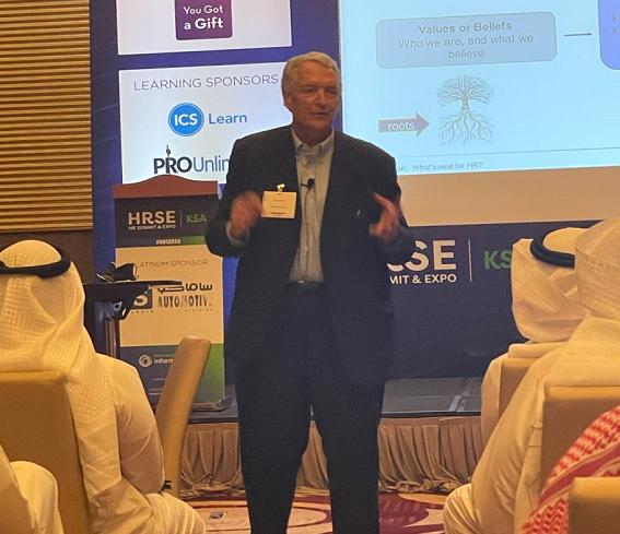 Dave Ulrich, HR Summit & Expo), Saudi, September 2021