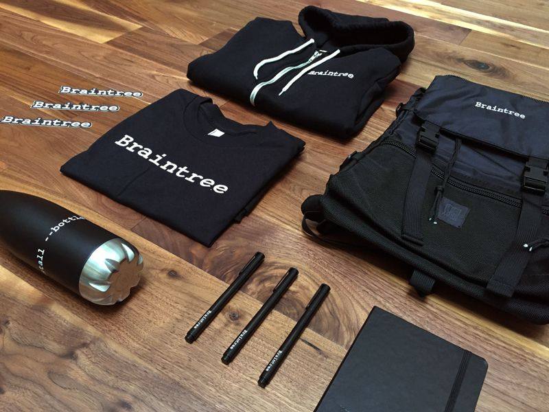 Braintree welcome kit