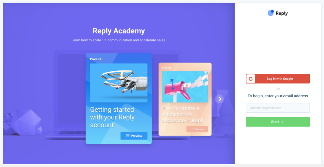 Reply Academy