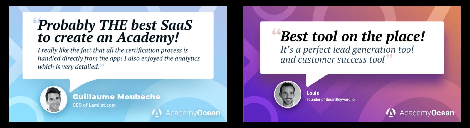 AcademyOcean review Lemlist SmartKeyword