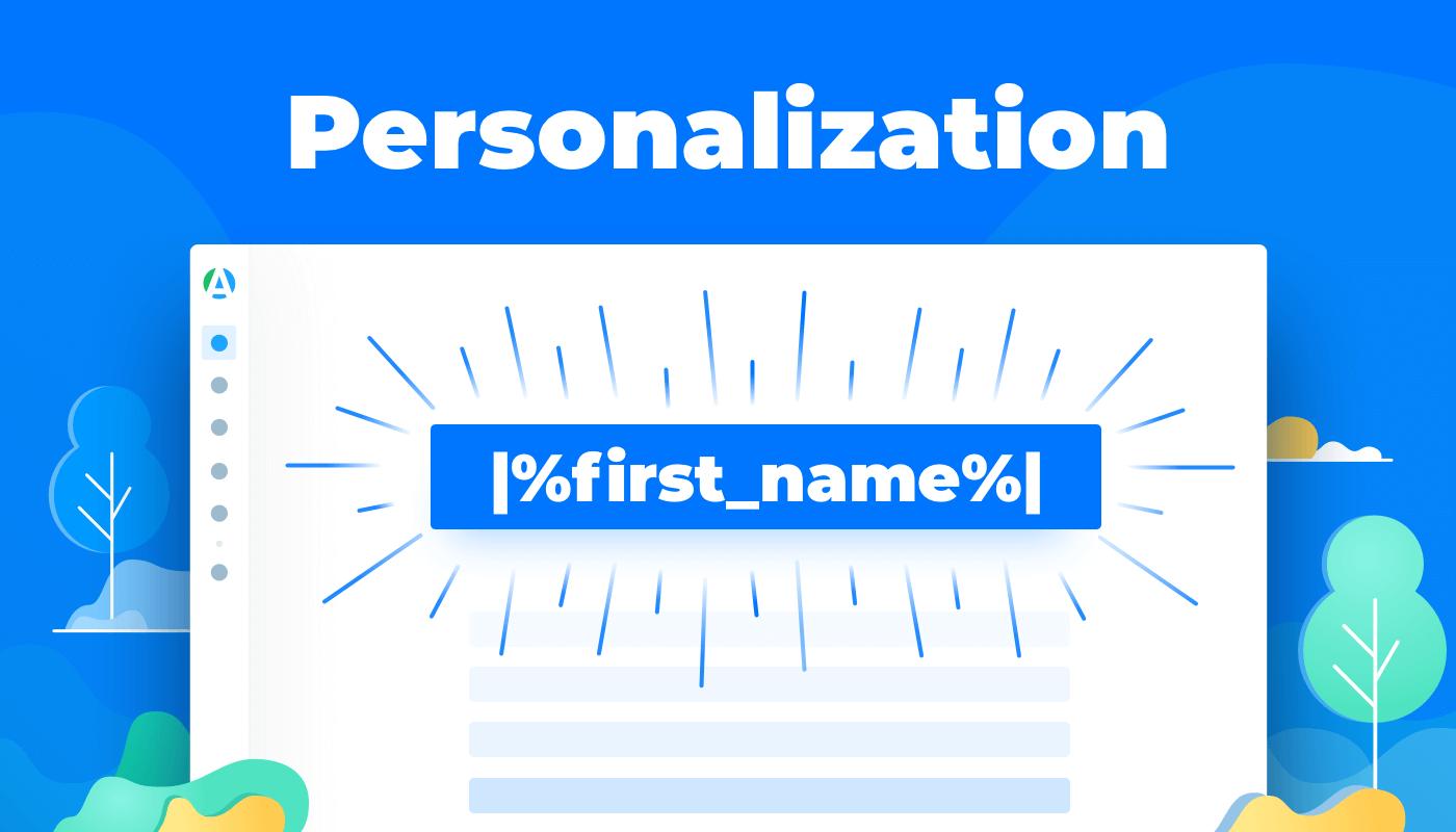 personalization feature