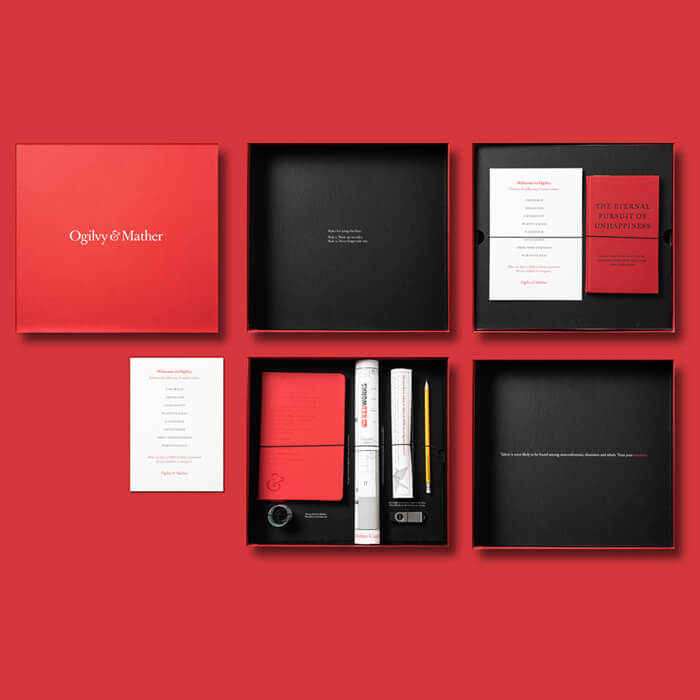 Ogilvy & Mather welcome kit