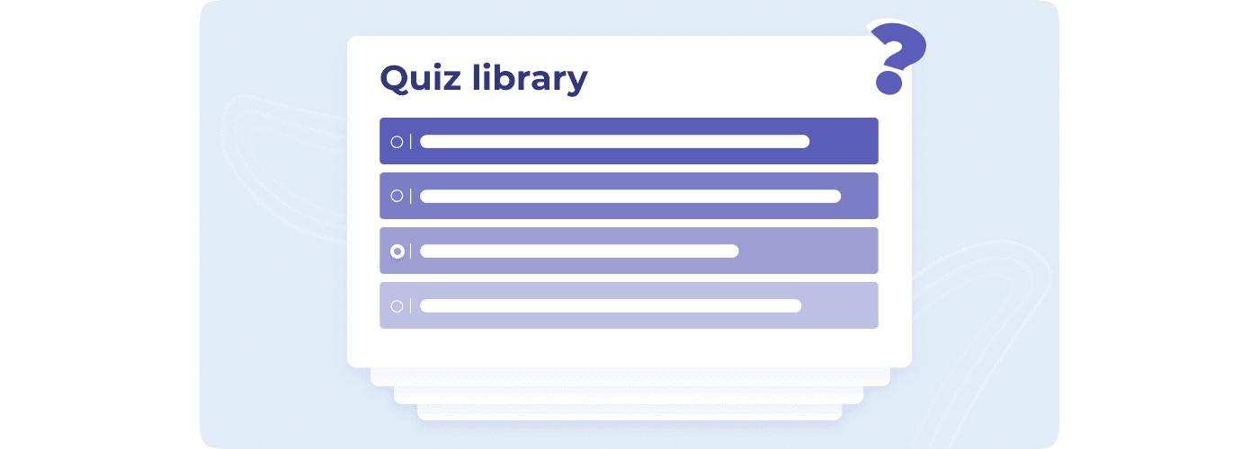 Quiz library